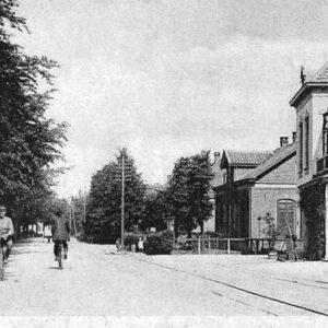 Terborgscheweg Doetinchem (foto firma Bosman, Doetinchem –collectie Erfgoedcentrum Achterhoek-Liemers)