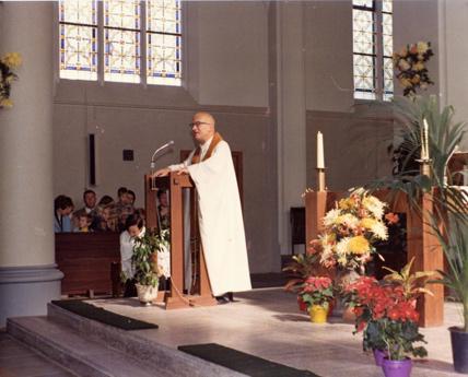 Afscheidsdienst (foto archief parochie Maria Vlucht Glanerbrug)