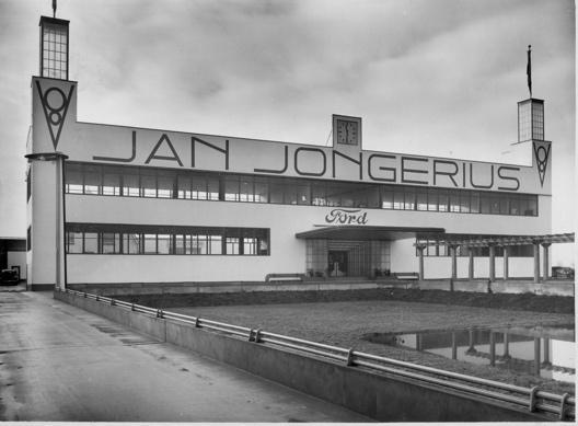 Utrechtse transportbedrijf Jongerius (foto familie Jongerius)