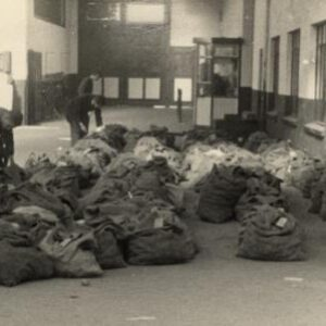 Opslag aardappelen bij transportbedrijf Jongerius (foto Wim de Beer)