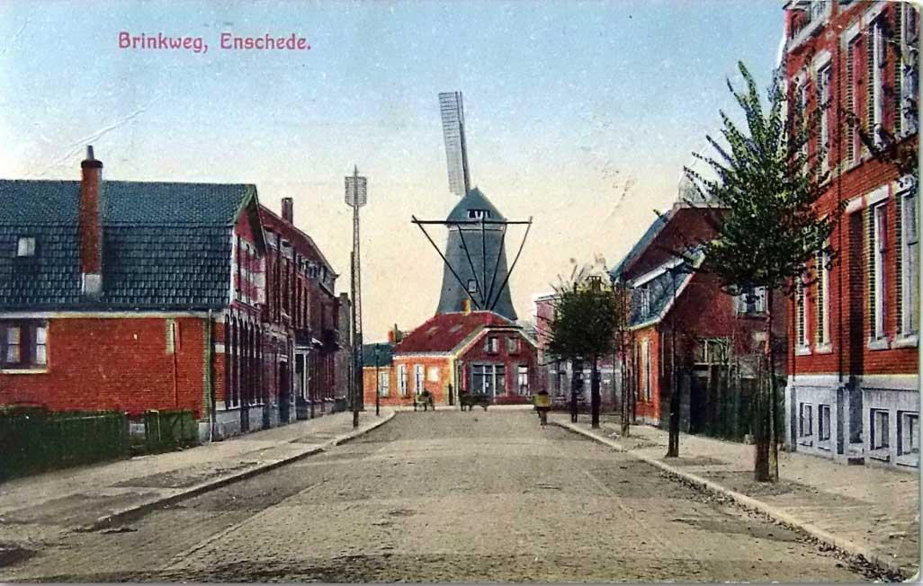 Brinkweg Enschede (foto Stichting Cultureel Erfgoed Enschede)