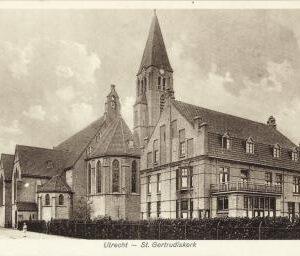 Gertrudiskerk (foto Het Utrechts Archief)