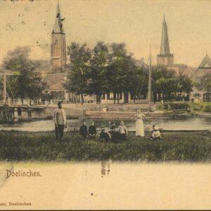 Stadsgezicht Doetinchem (foto Jan Stap, collectie collectie Erfgoedcentrum Achterhoek-Liemers)