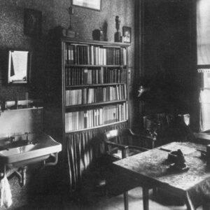 Studentenkamer grootseminarie Rijsenburg (foto Katholiek Documentatiecentrum Nijmegen)